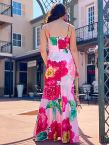 In Your Arms - Floral Maxi Dress