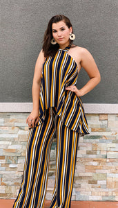 Lounge Affair Mustard Jumpsuit
