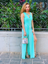 Load image into Gallery viewer, Tie You Up - Mint Maxi Dress