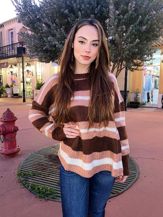 Neapolitan Girl - Striped Sweater