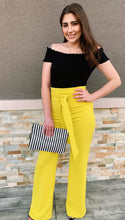 Load image into Gallery viewer, Autumn High Waisted - Dress Pants (Mustard)