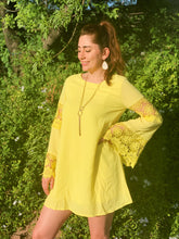 Load image into Gallery viewer, Bright & Yellow - Tunic Dress