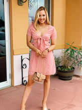 Load image into Gallery viewer, Pretty In Pink - Cut Out Dress