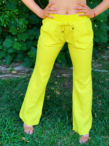 Fun in Linen Beach Pants (6 Colors)