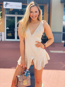 Obsessed With Neutrals - Short Romper