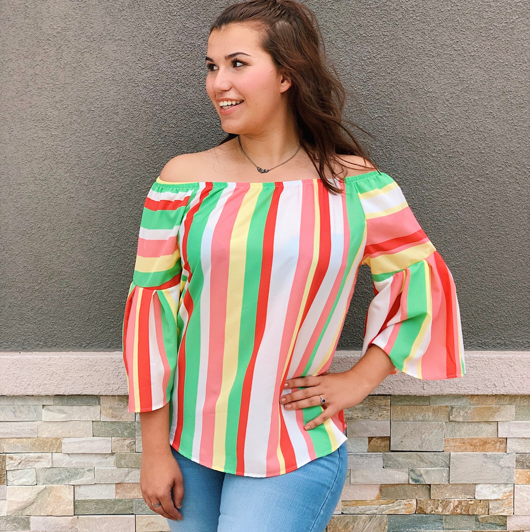 Fiesta In Color - Blouse
