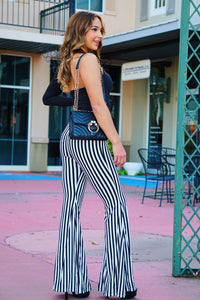 My Agenda Is Booked - Striped Pants