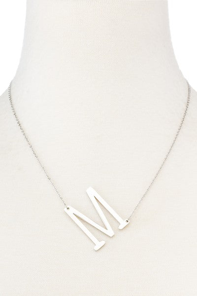 Initial Necklace A-Z