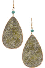 Load image into Gallery viewer, Teardrop Earrings (2 Colors)