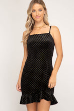Load image into Gallery viewer, Polka Dot In Glitter - Mini Dress