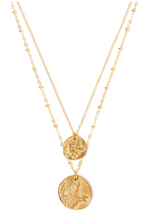 Load image into Gallery viewer, (Pre Order) Duo Charm Bloom Necklace - Tess + Tricia Collection