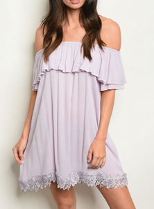 Lilac Obsessed - Tunic Dress