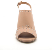 Load image into Gallery viewer, Studded Toffee - Slingback Ankle