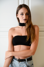 Load image into Gallery viewer, Black Choker Bandeau