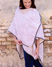 Load image into Gallery viewer, Charlotte Cape Wrap In Ivory