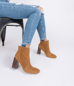 Bold In Camel Booties