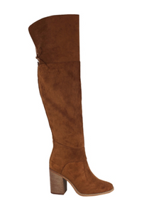 Rust Knee High Boots