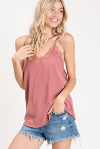Lace Cami (6 Colors)