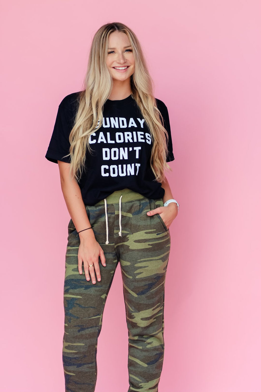 Sunday Calories Don't Count - Graphic Tee