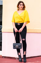 Load image into Gallery viewer, Back Lovin' In Mustard Blouse