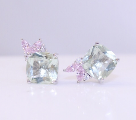 Chloe and Lois Bridal Jewelry Stud Earrings