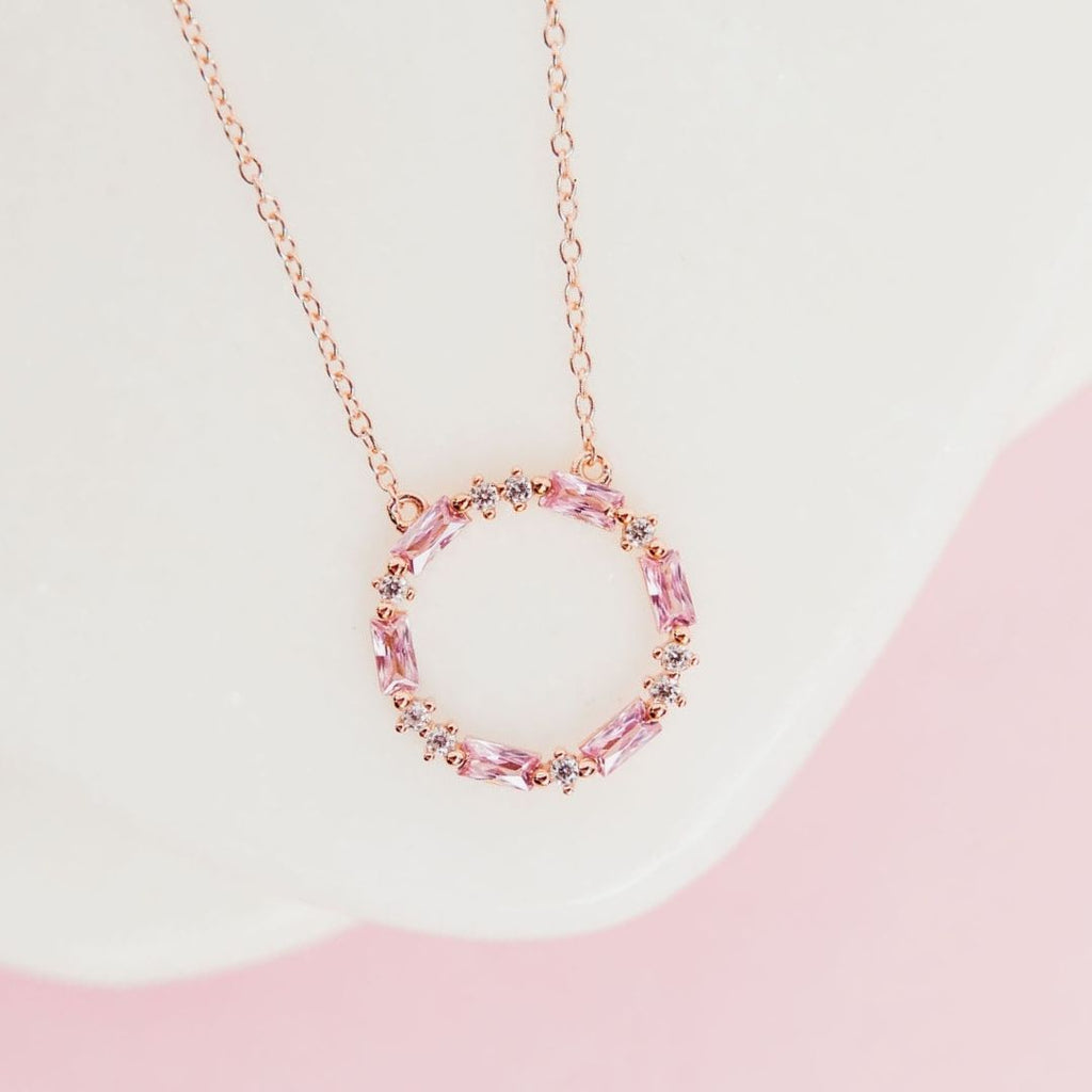 """Blush Dreams"" Necklace in Rose Gold Necklaces Chloe + Lois"