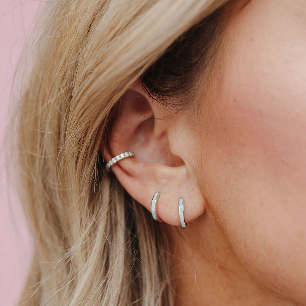 Single Glitter Ear Cuff Ear Cuff Chloe + Lois