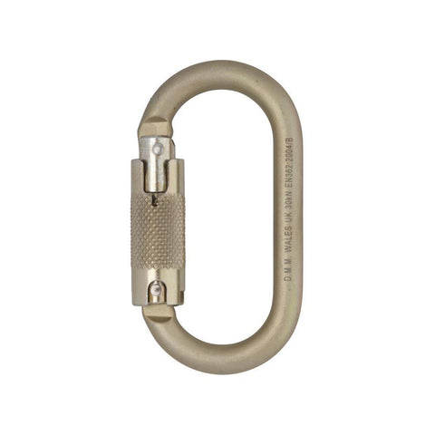 DMM 10mm Steel Oval-Steel Carabiner-DMM-JM Active | Rock Climbing