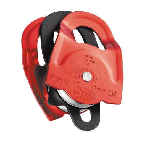 Petzl Twin-Pulley-Petzl-JM Active | Rock Climbing