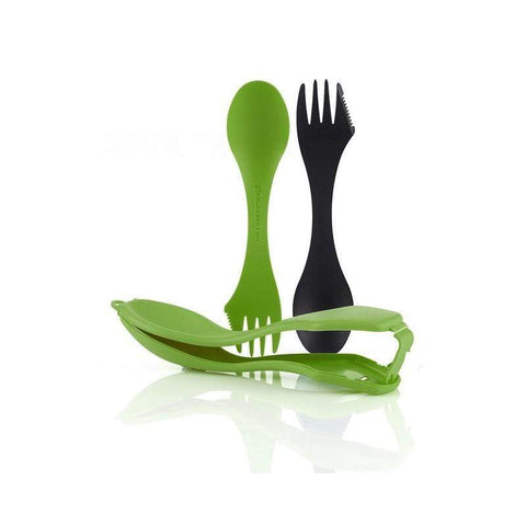 Spork & Case (Lime / Cyan)-Camping-Light My Fire-JM Active | Rock Climbing