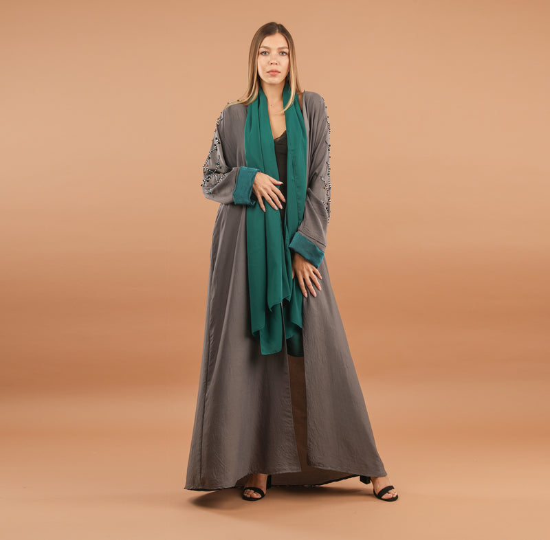 GREEN JEWEL ABAYA