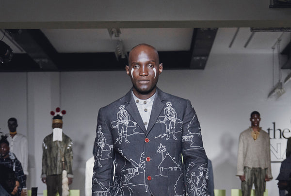 "ALA Champ Magazine Highlights SS20 ""The Black Prince Naimbana"" LFW Show"