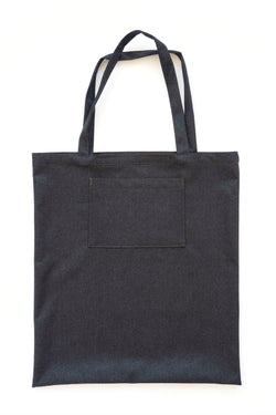 Water Repellent Oversized Tote Bag Anthracite