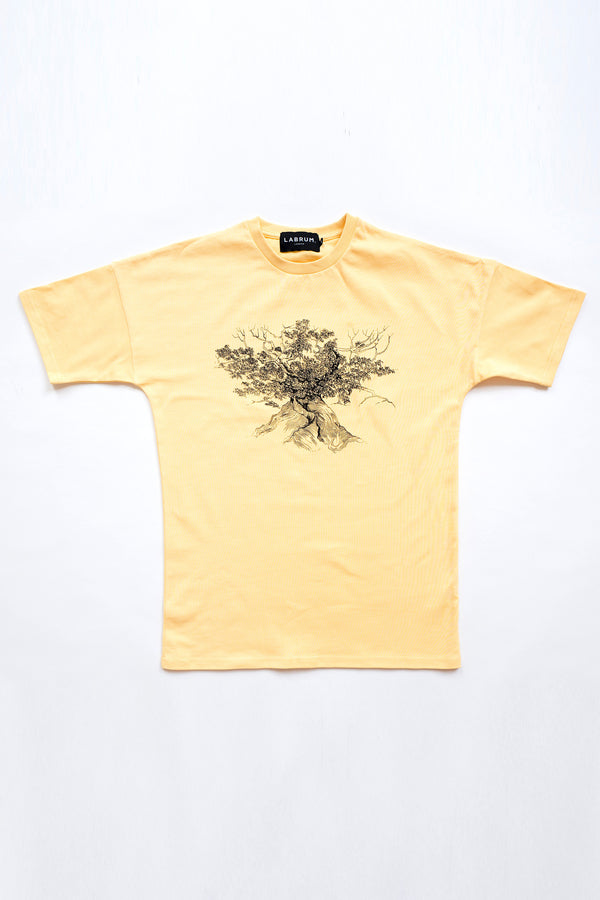 The Cotton Tree T-shirt Yellow