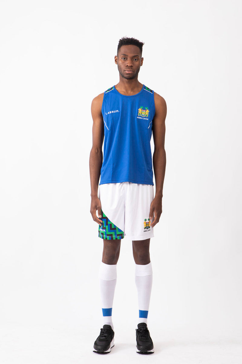 Sierra Leone Olympic Training Top Blue