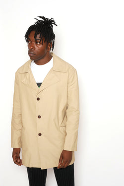 LIGHTWEIGHT WATER REPELLENT OVERCOAT
