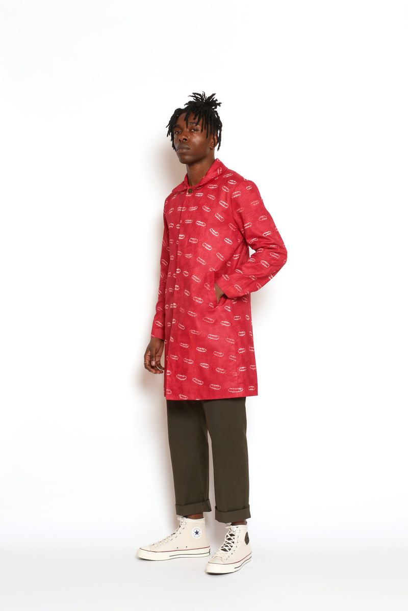 Osibisa Red Overcoat