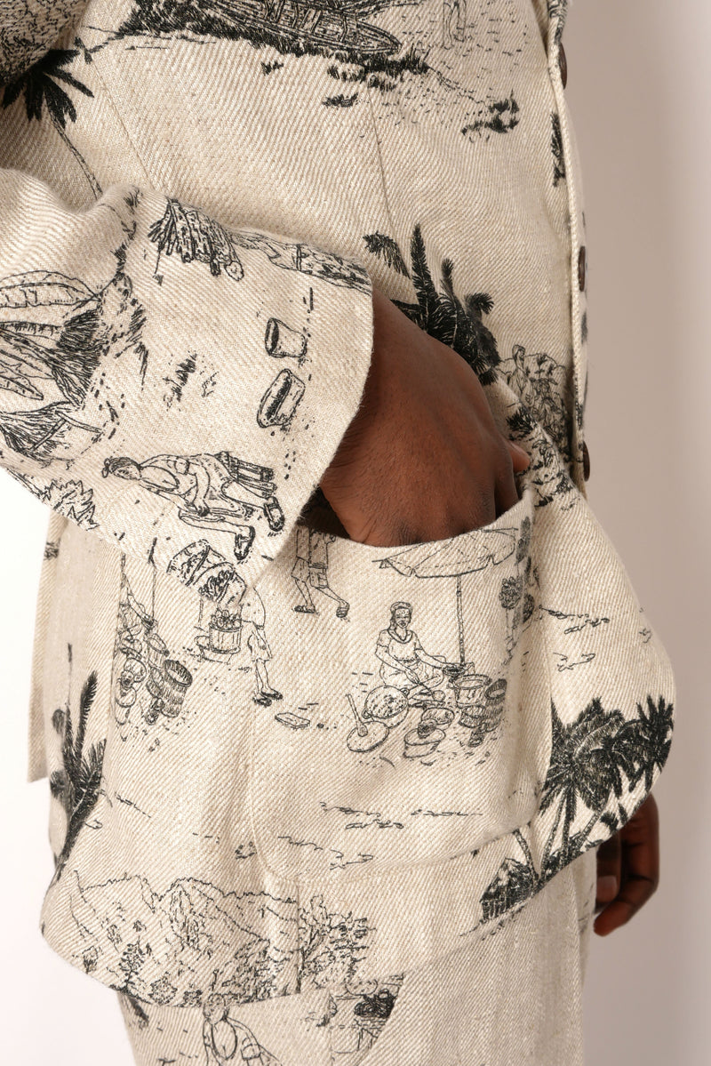 Made to Order: FREETOWN ILLUSTRATED SUIT