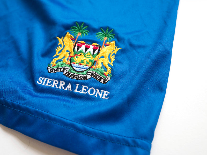 Sierra Leone Olympic Shorts Blue
