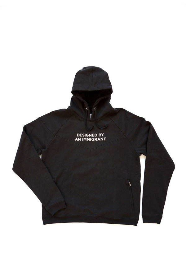 'Designed By An Immigrant' Hoodie