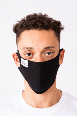 Black Washable and Reusable Mask