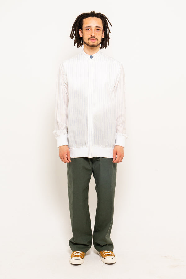 Shirting Bomber White