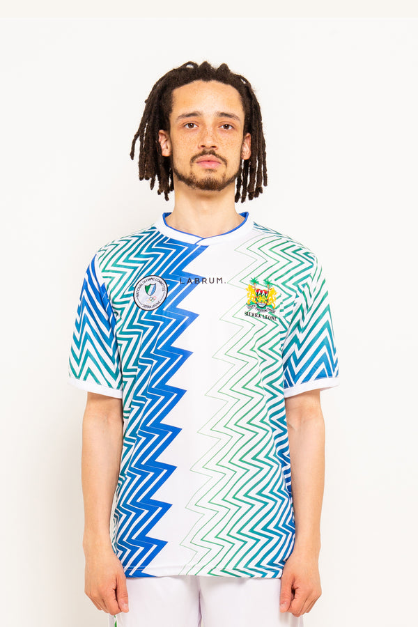 Sierra Leone Olympic Shirt Away Emblem