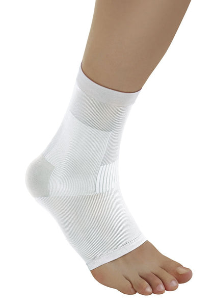 Solidea Silver Ankle Support