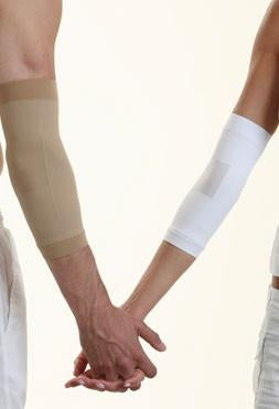 Solidea Silver Elbow Support