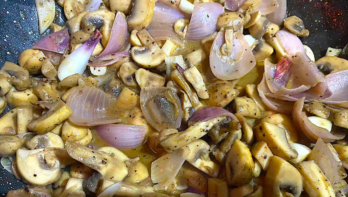 Pepper Mushroom - Cooking With Kids