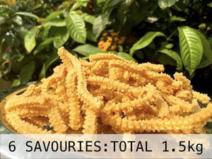 Karam Lovers (6 Savouries, Total 1.5kg)