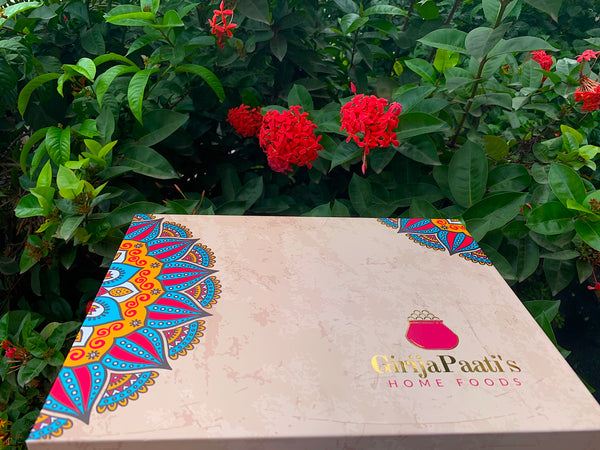 GirijaPaati's Festive Luxury Gift Hamper 2020 - 10 items