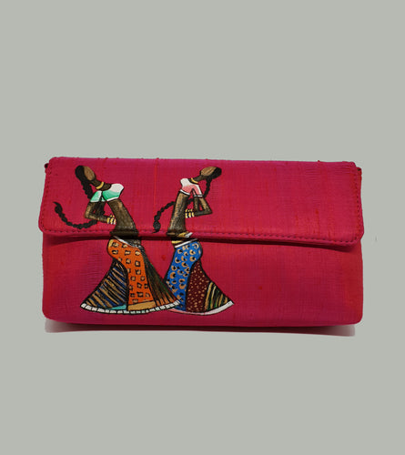 Rajasthani Art Painted Clutch