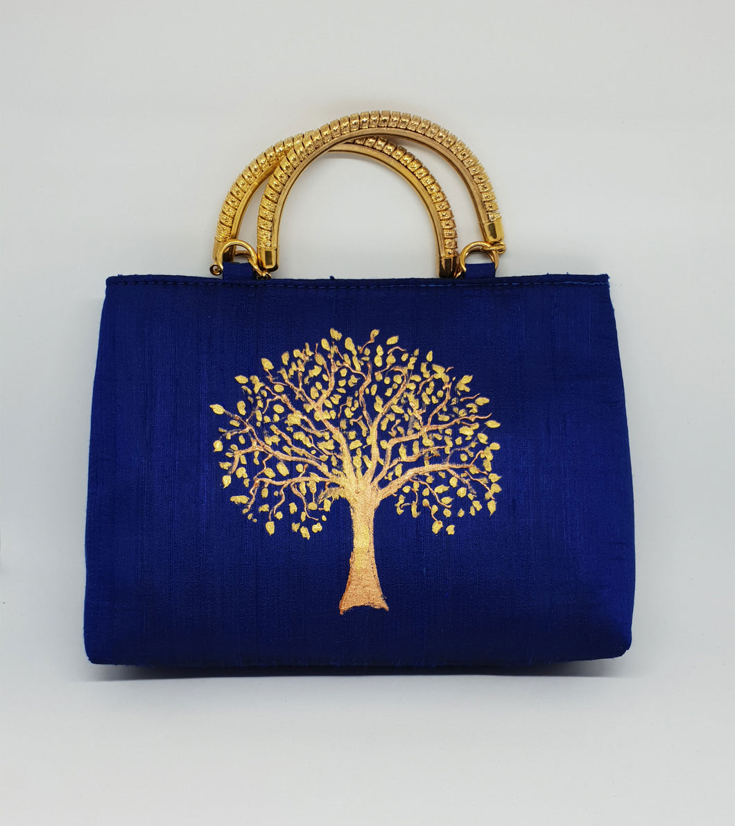 Hand Painted Tree Bag